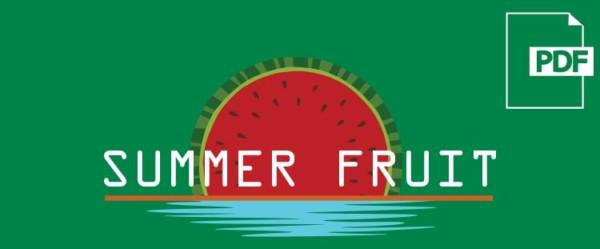 Descarga el pdf del Summer Fruit