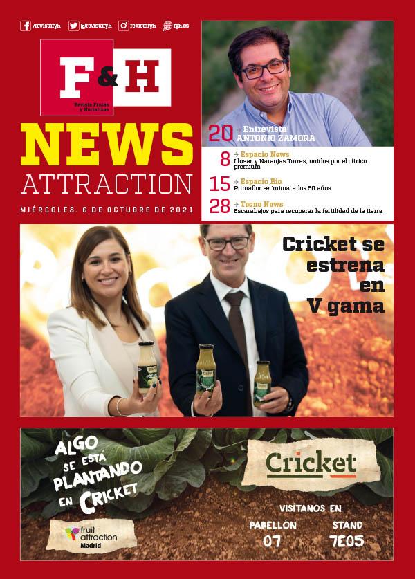 News Attraction 2021 - Día 6